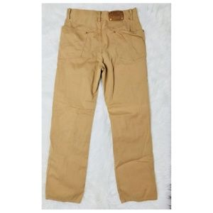 Batable Medium pants Brown 100% Cotton Japanese